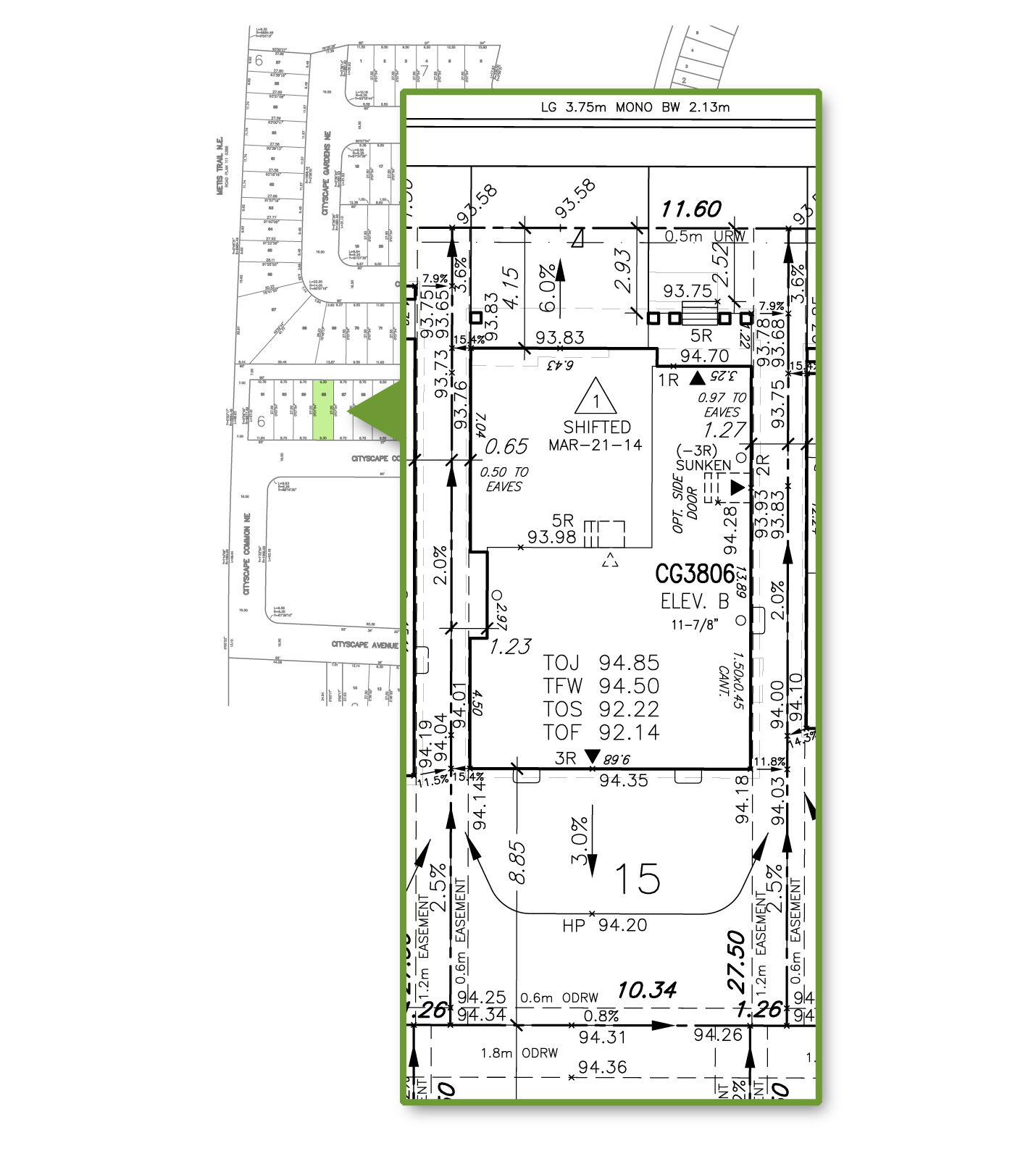 Building Permit Site Plan
